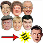 OFFICIAL MRS BROWN'S BOYS FACE MASKS PARTY FUN MASK BUSTER CELEBRITY BROWN