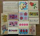 WOODBLOCK WOOD MOUNTED RUBBER STAMPS      NEW VARIOUS DESIGNS YOU CHOOSE
