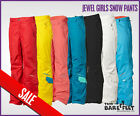 NEW O'NEILL Jewel Girls Snow Ski Pants Trousers Salopettes