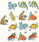 Ceramic Decals Children's Cute Dinosaur Animal  Full Sheet/Lot image