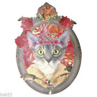 Cat with Tiara IRON ON TRANSFER (T-shirt / Crafts)13x9cm Other Choices Available