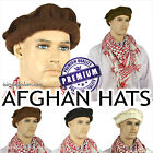 Genuine Afghan Hats Premium Quality Pakol. 100% Wool. 10 Colours Available!