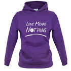 Love Means Nothing - Kids / Childrens Hoodie - Tennis - Wimbledon - Andy Murray