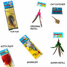 Go Cat Da Bird & Cat Catcher Refills:Puff, Super, Original, Fur, Sparkler, Mouse
