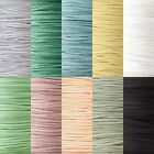 100 Yards Faux Flat Suede Leather Lace Cord 3mm x 1mm 20 Pound Test Strength
