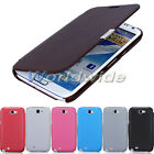 Leather Magnetic Pouch Flip Wallet Case Cover For Samsung Galaxy Note II 2 N7100