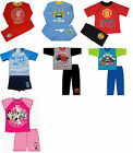 BNWT Official Kids Unisex Character/Football Summer Night Wear PJ Pyjama Sets