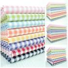 KENT 2 YARN DYED GINGHAM - 9mm 3mm 1mm COTTON FABRIC red green blue pink yellow