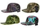 RARE - Exclusive - ITZU Co.Paisley + Print 5 Panel Snapback Cap Hat Snap Back