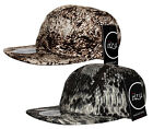 RARE - Exclusive - ITZU Co Snakeskin 5 Panel Snapback Cap - Snake Skin Snap Back