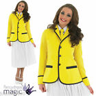 Ladies Holiday Camp Hostess Hi De Hi Uniform Fancy Dress Costume Womens 50s 80s