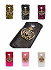 Multi-choice Bling Rhinestone Faux Pearls Crown Deluxe Case Cover for HTC ONE M7