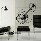 Fashion Guitar Removable Wall Art Stickers Mural Vinyl Decal Paper Decor DIY
