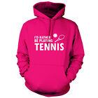 Rather Be Playing Tennis - Unisex Hoodie - 9 Colours - Wimbledon - Andy Murray