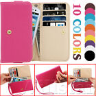LEATHER WALLET FLIP CASE COVER POUCH FOR SAMSUNG GALAXY S3 SIII I9300 FREE FILM