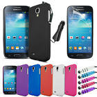 Hard Case - Car Charger - LCD Screen Protector For Samsung Galaxy S4 Mini i9190