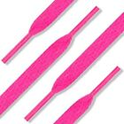 Hot Pink Shoelaces Flat, Fat, Round Style by Shoe String King choose your lace