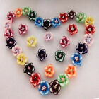 Hot Wholesale 100pcs Fimo Polymer Clay Plumeria Flower DIY Beads Charms 12mm