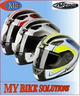 Nitro Vertice Motorcycle Motorbike Scooter Moped Full-Face Helmet