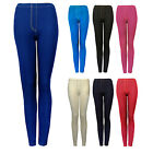 Womens Plus Size Stretch Jeggings Blue Black Ladies New Leggings UK 22 24 26 28