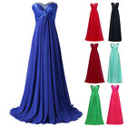 Luxury Women's Dresses Bridesmaid Evening Party Formal Prom Dress Gown In Stock