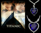 1PC Attractive Austrian Crystal Titanic Heart Of Ocean Pendant Necklace 2 Styles