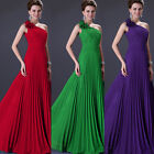 Chiffon Prom Dress Wedding Bridesmaid Dresses Evening Cocktail Party ball Gowns