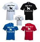 Afghan Hound The Only Dog For Me Printed On A FOTL T-Shirt Various Colours