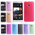 1 Pcs Ultra-thin 0.5mm Transparent Matte Shell Cover Case For HTC One M7