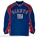 New York Giants Official NFL Slotback Pullover Jacket NWT