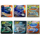 Gillette Razor Blades Cartridges Sensor Excel Mach3 Turbo Fusion Proglide Power