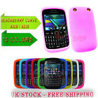 2 X Soft Case Cover Gel Silicone Rubber  Blackberry Curve 9320 9220 New10 color