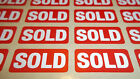 SOLD Stickers Self Adhesive Labels Removable Adhesive Suitable For Furniture