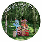 In the Night Garden Personalised Edible Rice/Icing Cake Topper 7.5 inch Circle
