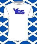 "Scottish Independance ""YES"" T-Shirt. (political, vote, 2014,snp) FREE POSTAGE"