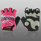 GK Women's Sports Cycling Racing Bike Bicycle Half Finger Gloves Pink 3Size XS~M