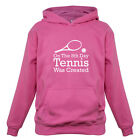 On The 8th Day Tennis Was Created - Kids / Childrens Hoodie - Wimbledon