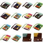 For Samsung S4 mini i9190 i9092 i9195 i9198 Wallet PU Leather ID Case Flip Cover