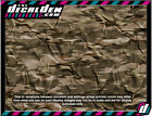Traditional Desert Army Camo Vehicle Wrap Panel Camouflage cloth effect Sand