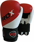 RDX Maya Hide Leather Boxing Gloves Fight Punch Bag Muay Thai Grappling MMA CA