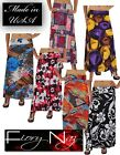 Modern Assorted Patterns Chic Maxi Long Skirt  - Made in USA