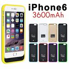 3600mAh Power Pack External Backup Battery Charger Case for iPhone 5 5s 6 4.7""