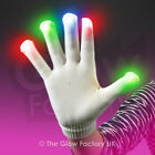 Wholesale Light Up Gloves LED Rainbow Bulk Flashing Gloves