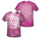 Green Lantern Sapphire Energy Ring Logo Sublimation ALL OVER Vintage T-shirt top