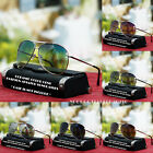 Vintage Aviator Fashion Sunglasses Designer Ocean Colors Lens New Men's Women's