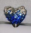 Heart Rhinestones Cell Phone Charm Earphone Cap Dust Plug,  Fast Ship from U.S.