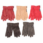 Ladies  Women Genuine Leather Winter Warm Gloves with Thinsulate Thermal Lining