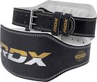 RDX Gel Body Building Gloves Gym Weight Lifting Strap training Leather Training