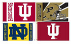 IU Indiana Purdue Notre 3x5 House Flags TOTAL CLOSEOUT