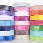 5 Metres of 30mm Polka Bias Binding Extra Wide Quilting Tape Bright Colours